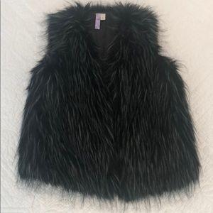 Fun Faux Fur Vest!